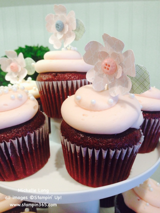 Pansy Punch Cupcake Toppers