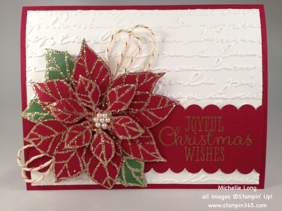 Poinsettia Card