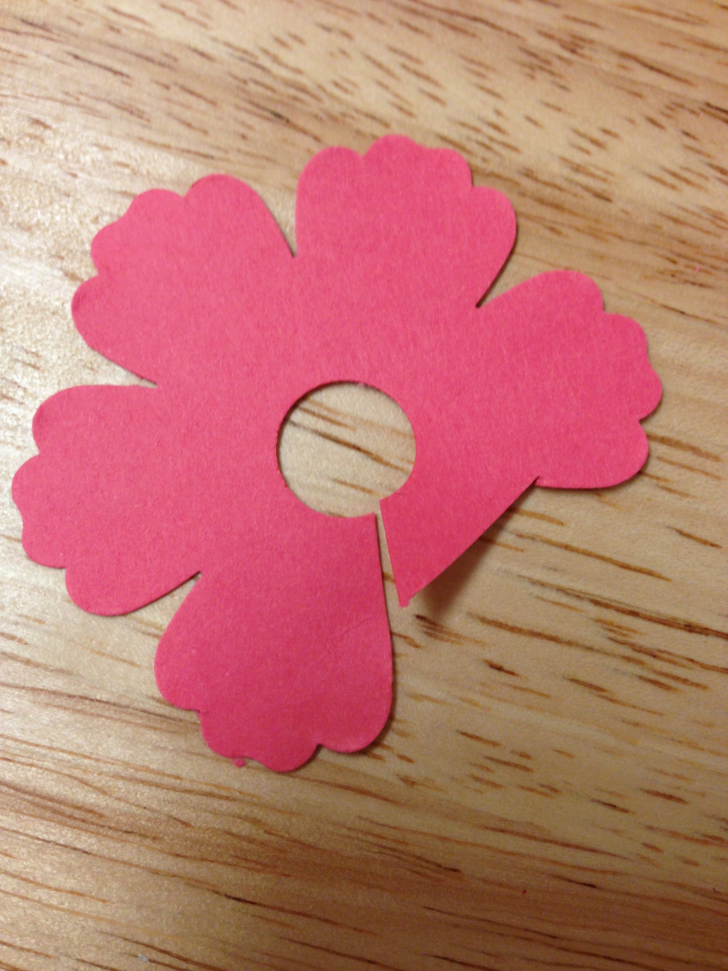 Blossom punch 3d flower tutorial stampin 365 photo 5 mightylinksfo