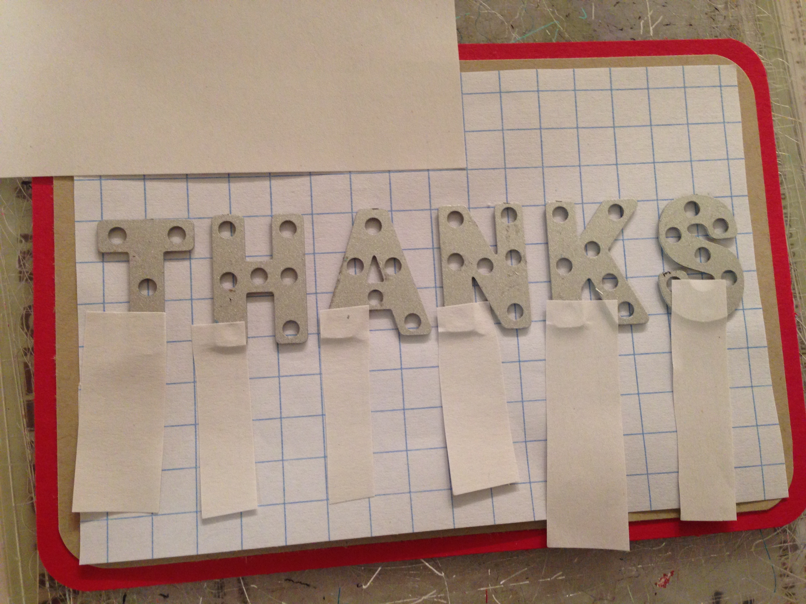 stampin u2019 up  little letters thinlits