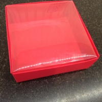 4 x 4 Box With Clear Lid Tutorial