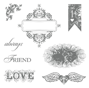 Affection Collection Stamp Set