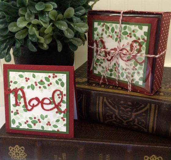 Noel Notecards Set 5