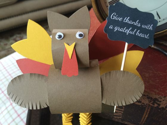 stampin up turkey 2