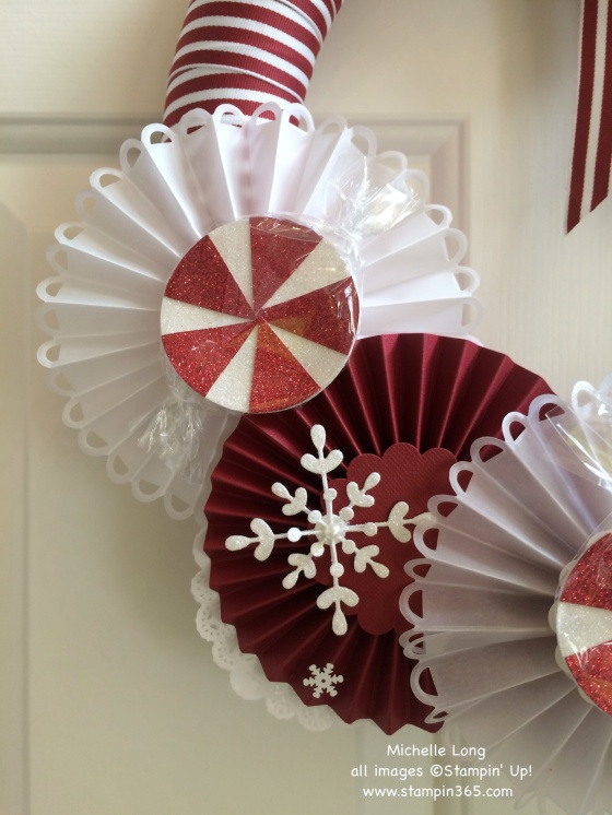 Candy Wreath Close Up Best 2