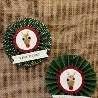 DIY Thumbprint Keepsake Ornaments
