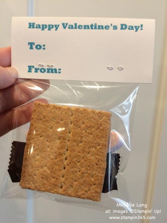 Smore's Valentine Back