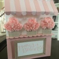 Cupcake Awning Card