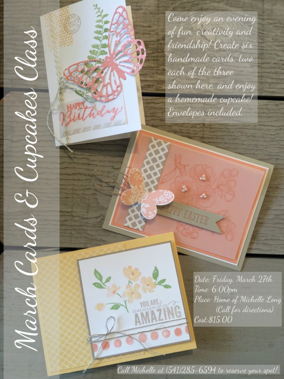 Cards & Cupcakes March