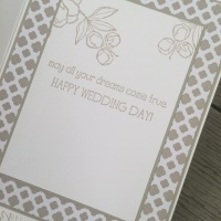 A Wedding Card With Indescribable Gift