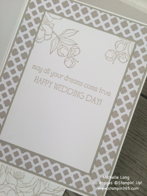 Wedding Card Inside Stampin365