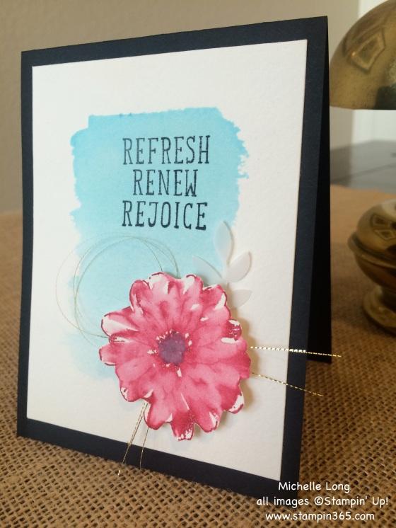 Watercolor Card Stampin365