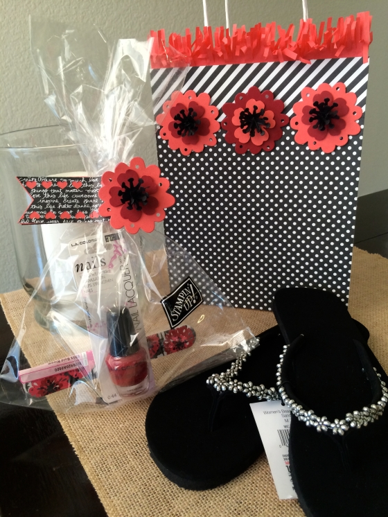 Pansy Punch Gift