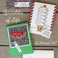 August Stamp of the Month Club: Sprinkles of Life