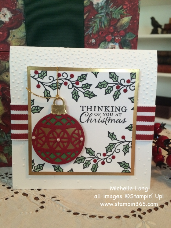 Embellished Ornaments Stampin365
