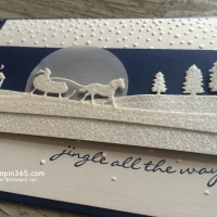 Sleigh Ride Edgelits Dies by Stampin' Up!
