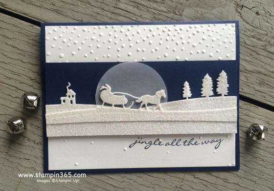 Sleigh Ride stampin365.com