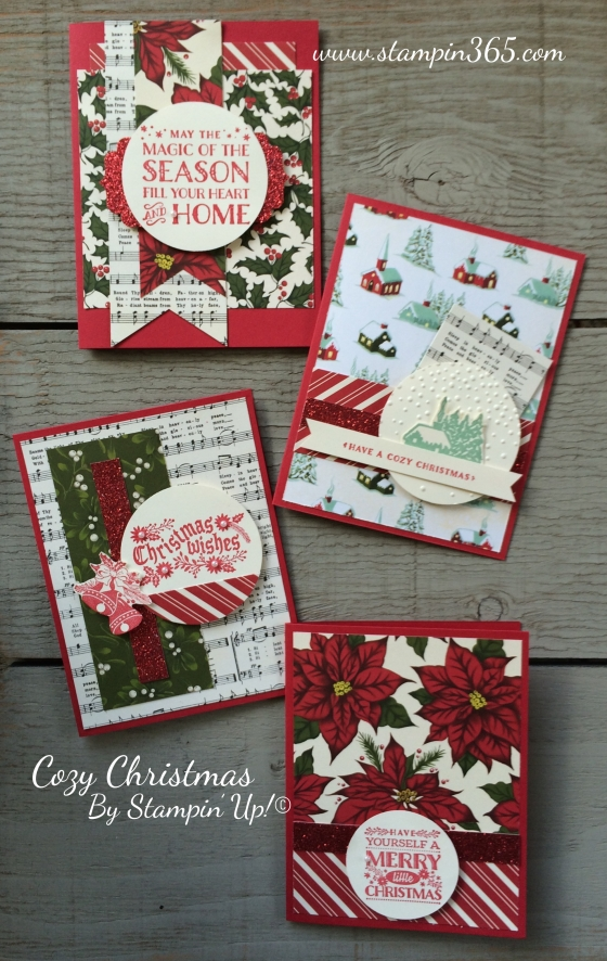 Cozy Christmas By Stampin365