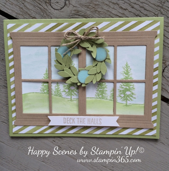 Happy Scenes Stampin365.com