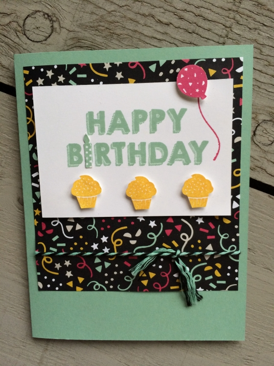 Birthday Wishes Onstage Make and Take