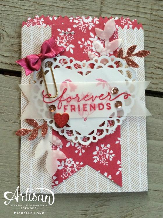 Love Blossoms Mini Treat Bag 3