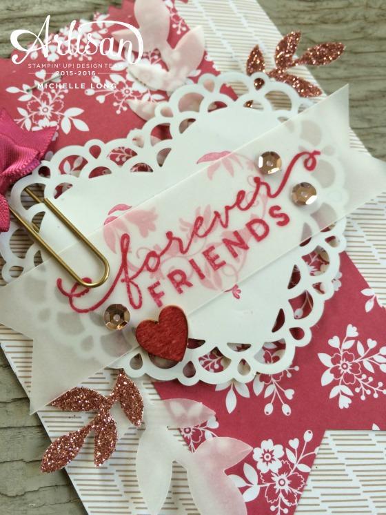 Love Blossoms Mini Treat Bag Stampin365