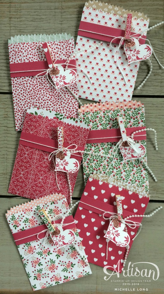 Love Blossoms Mini treat Bags 5