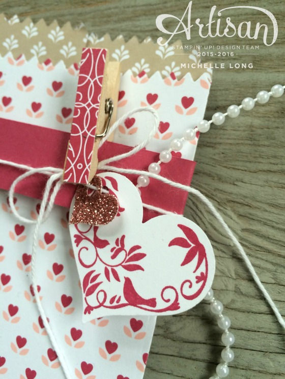 Love Blossoms mini treat Bags 6