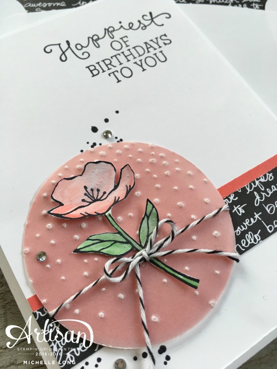 Birthday Blooms Card 2 Stampin365.com