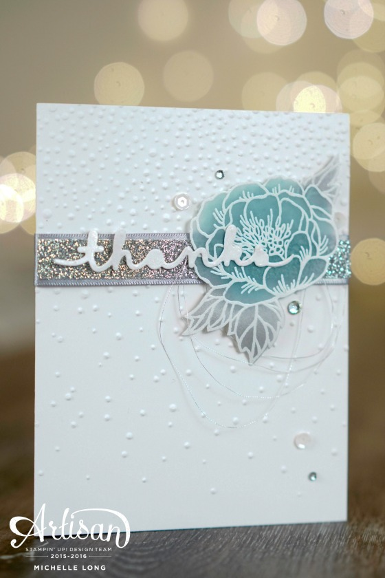 Birthday Blooms in Blue Stampin365