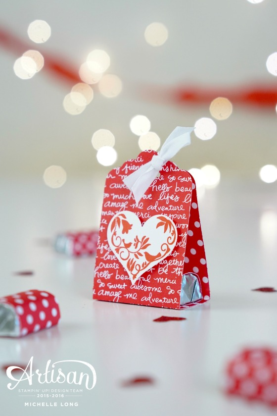 DIY Valentine Treat Holder