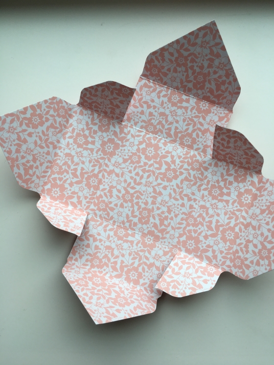 Envelope Punch Board Flaps