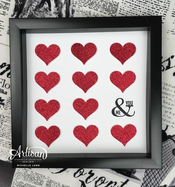 Valentine Decor Stampin365.com