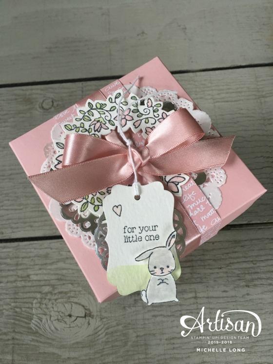 Baby Gift Box 2 Stampin365.com