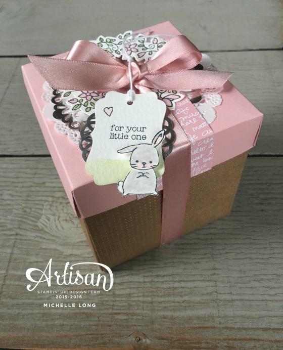 Baby Gift Box Stampin365.com