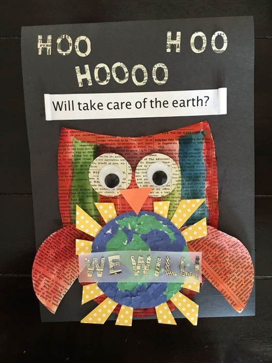 Earth Day Kid Craft 2