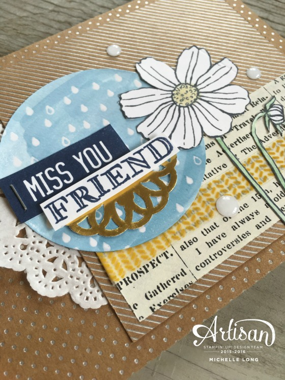 Miss You Card Stampin365.com
