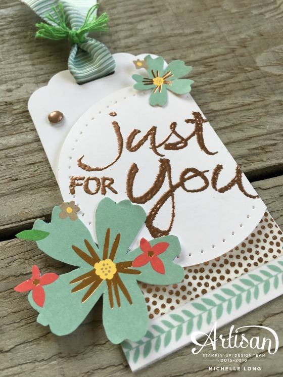 Affectionately Yours Bookmark stampin365.com