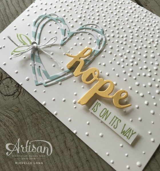 Sunshine Sayings- Hope stampin365.com