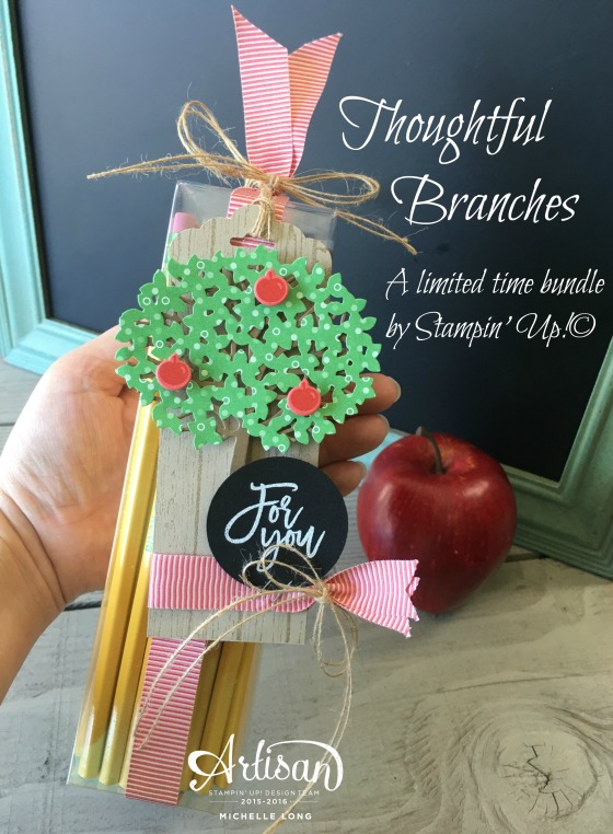 Thoughtful Branches Teacher Gift Stampin365.com