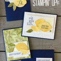 August Stamp of the Month Club- Lemon Zest