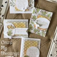 October Stamp of the Month Club~ Count My Blessings