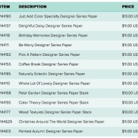 Designer Series Paper Sale- Now Until October 31st!